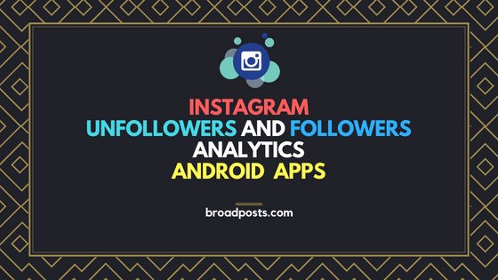 Instagram Unfollowers And Followers Analytics Android  Apps