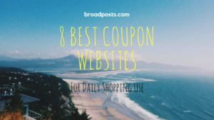 coupon website banner