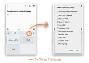 how to change a language