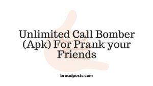 call bomber