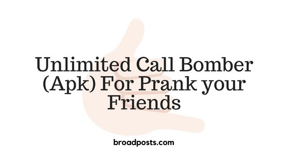 Download Unlimited Call Bomber Apk (Latest Version)