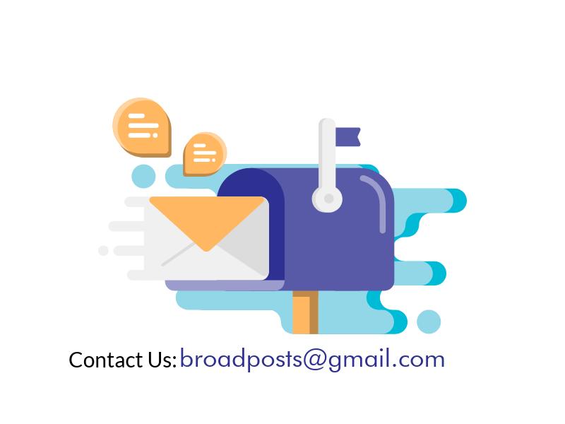 Contact us broadposts