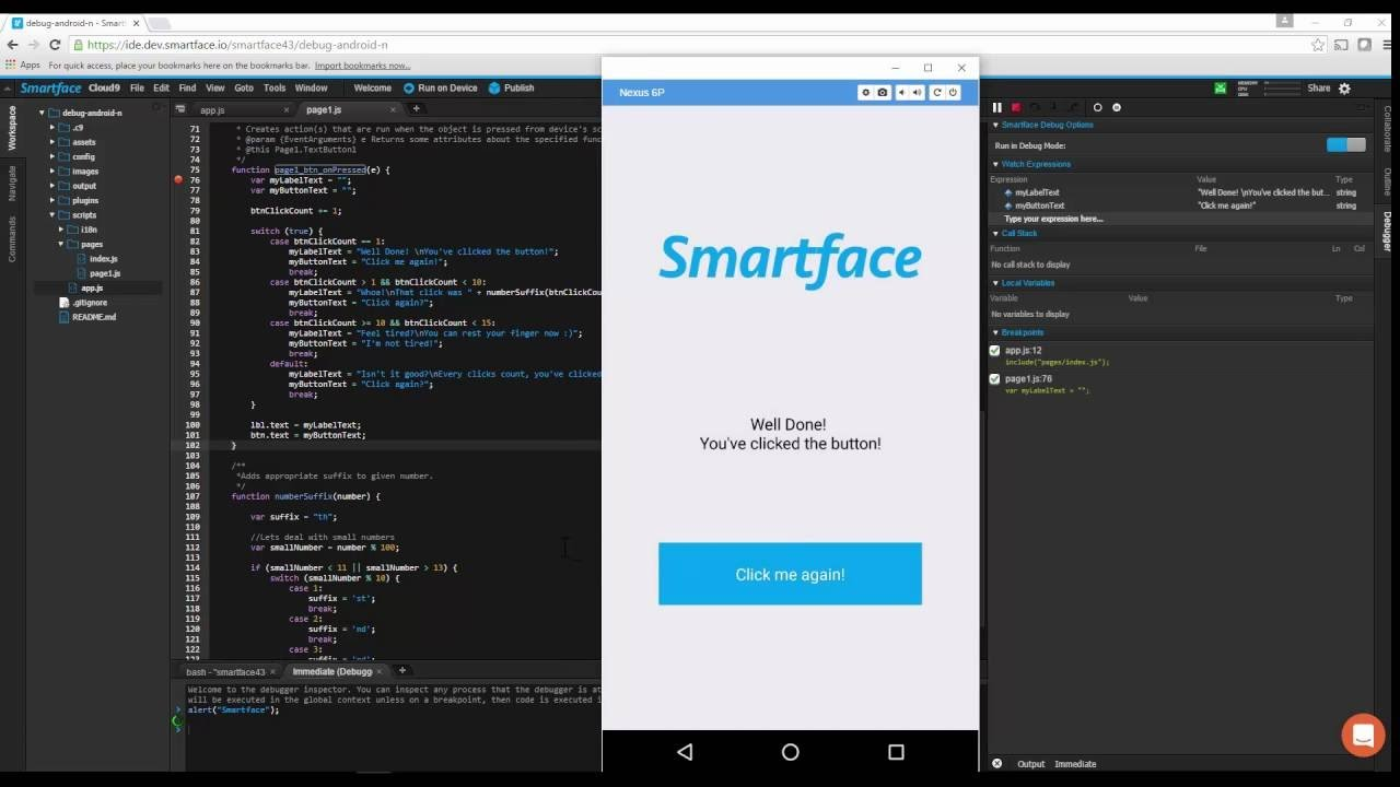 ios emulator-Smartface
