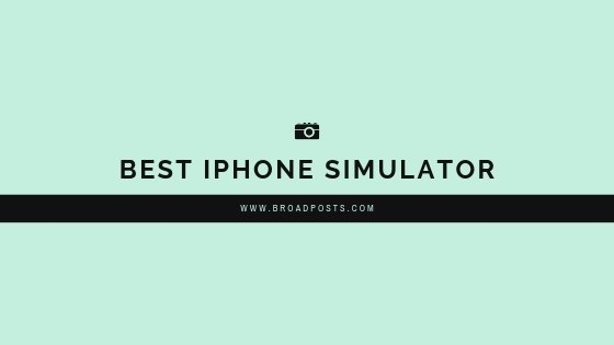iphone simulator windows