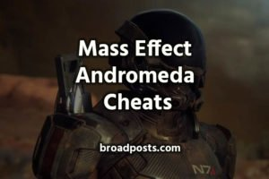 Mass Effect Andromeda Cheats (&  Console Commands)
