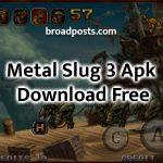 Metal Slug 3 Apk Banner
