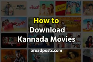 Kannada Movies Download & Watch – Best Websites