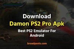 Download Damon PS2 Pro Apk | PS2 Emulator Android