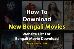 Bengali Movies Download Websites For 2019