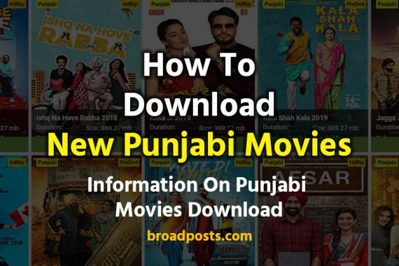 Punjabi Movies Download Sites List- A Complete Guide
