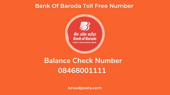 bob balance check enquiry new number