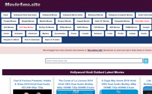 Movie4me 2019: Download 480p 720p HD 300MB Hindi Dubbed Dual Audio Movies