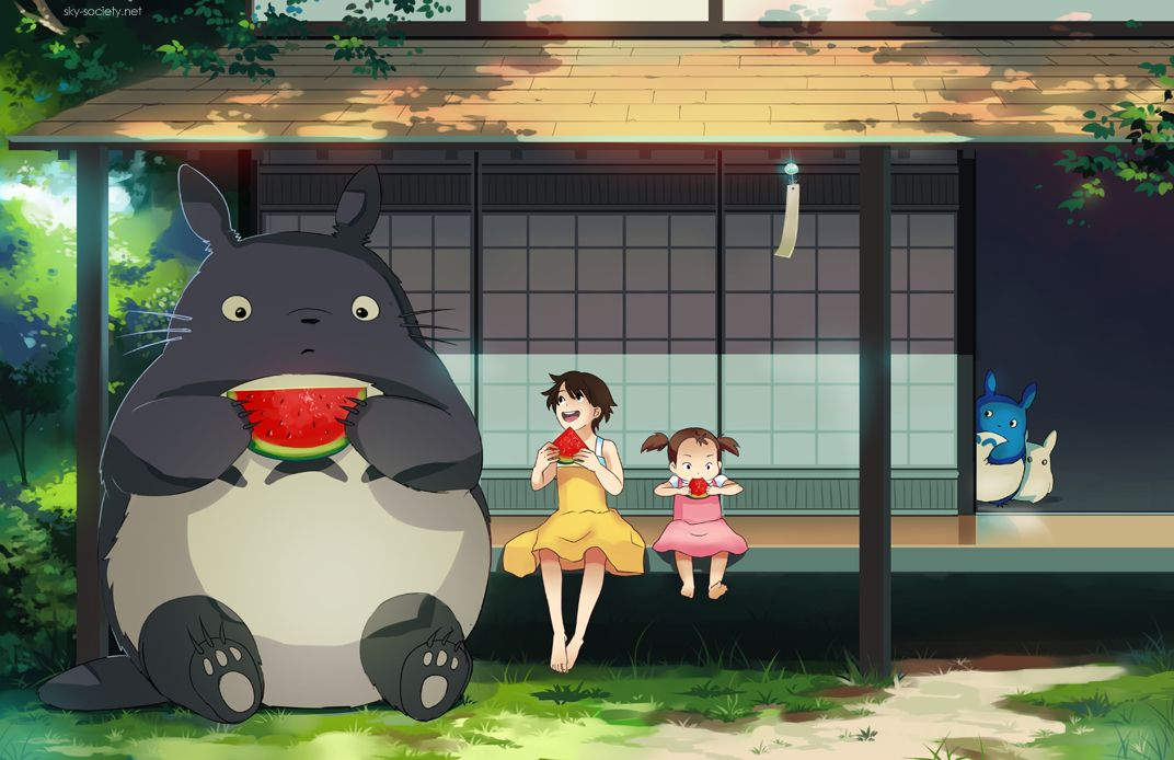 Check Out Fan Favorite Moments in My Neighbor Totoro