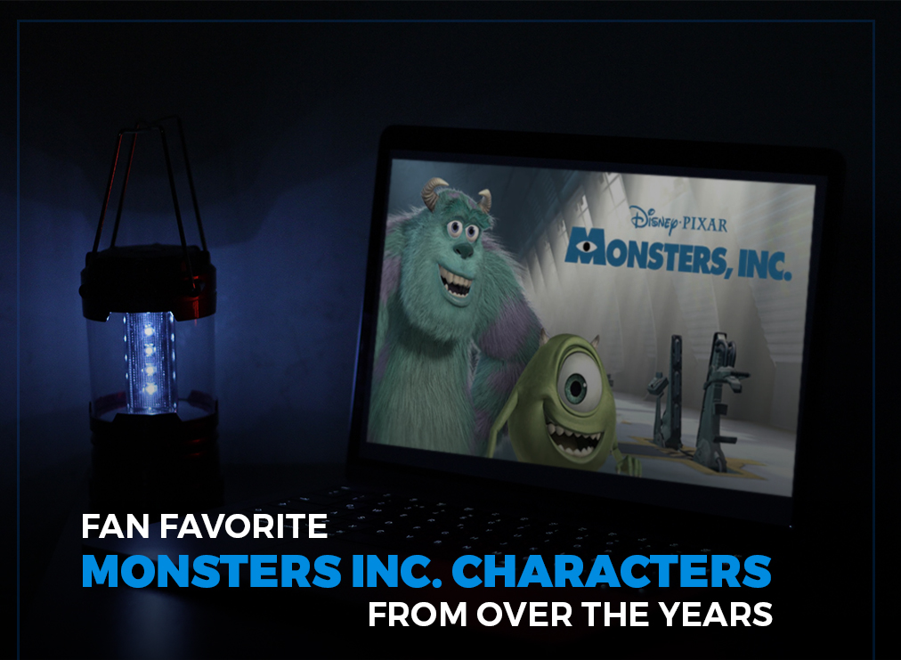 Fan Favorite Monsters Inc. Characters from Over the Years