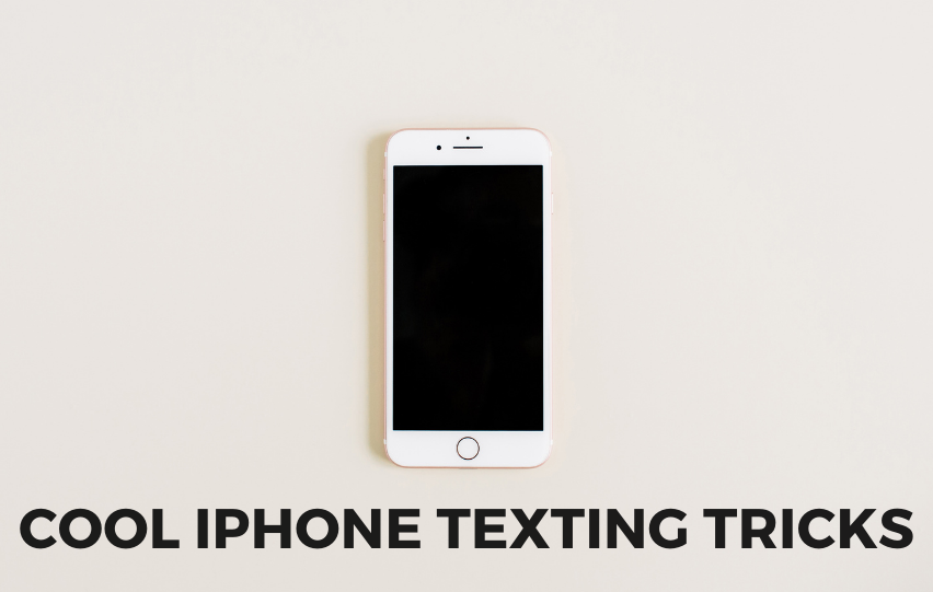 Check Out These Cool iPhone Texting Tricks